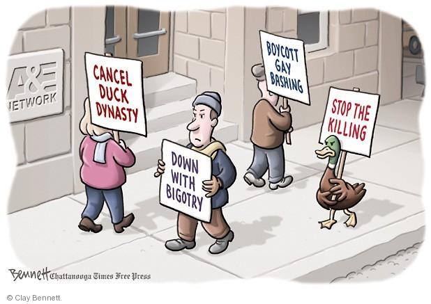 Clay Bennett  Clay Bennett's Editorial Cartoons 2013-12-24 bigotry