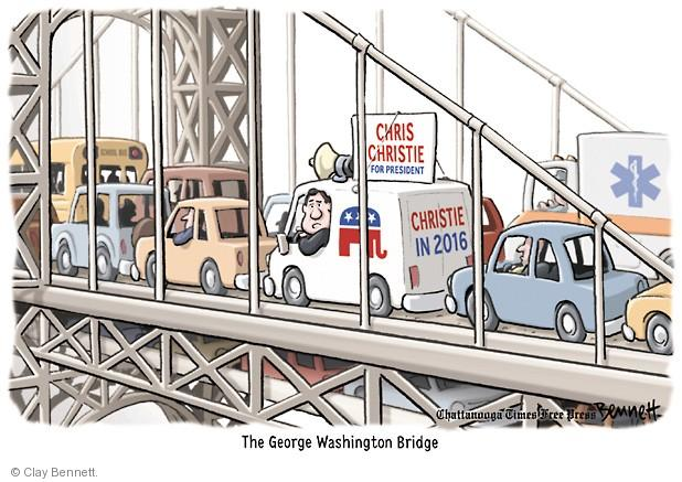 Cartoonist Clay Bennett  Clay Bennett's Editorial Cartoons 2014-01-09 state election