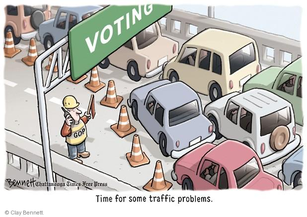 Clay Bennett  Clay Bennett's Editorial Cartoons 2014-01-27 voting rights