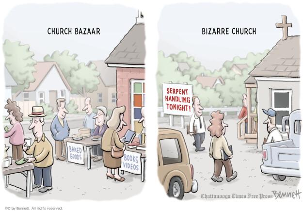 Clay Bennett  Clay Bennett's Editorial Cartoons 2014-02-21 belief