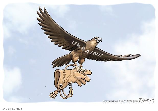Cartoonist Clay Bennett  Clay Bennett's Editorial Cartoons 2014-02-25 Ukraine