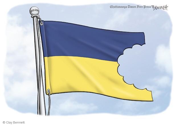 Cartoonist Clay Bennett  Clay Bennett's Editorial Cartoons 2014-03-11 Ukraine