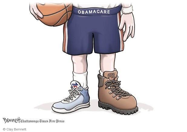 Clay Bennett  Clay Bennett's Editorial Cartoons 2014-03-21 Obamacare