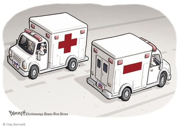 Clay Bennett  Clay Bennett's Editorial Cartoons 2014-04-01 opposite direction