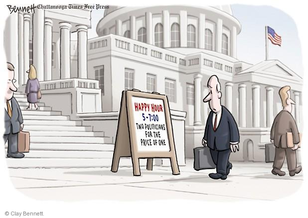 Cartoonist Clay Bennett  Clay Bennett's Editorial Cartoons 2014-04-03 campaign contribution