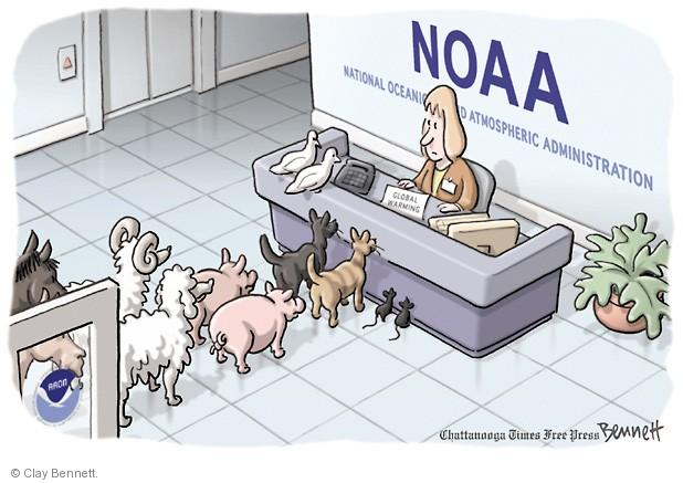 NOAA. National Oceanic and Atmospheric Administration. Global Warming.