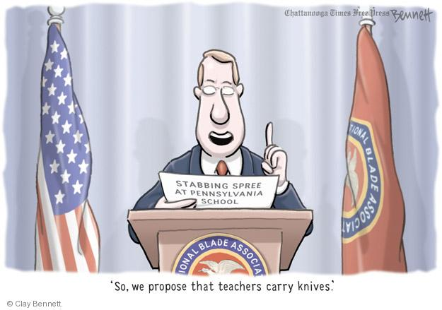 Cartoonist Clay Bennett  Clay Bennett's Editorial Cartoons 2014-04-11 association