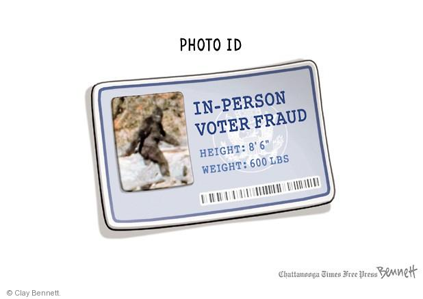 Cartoonist Clay Bennett  Clay Bennett's Editorial Cartoons 2014-04-14 photo ID
