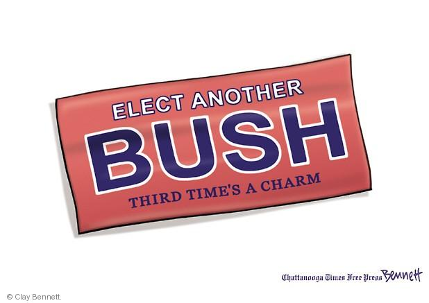 Clay Bennett  Clay Bennett's Editorial Cartoons 2014-05-03 2004 election