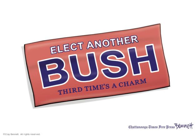 Cartoonist Clay Bennett  Clay Bennett's Editorial Cartoons 2014-05-03 former governor