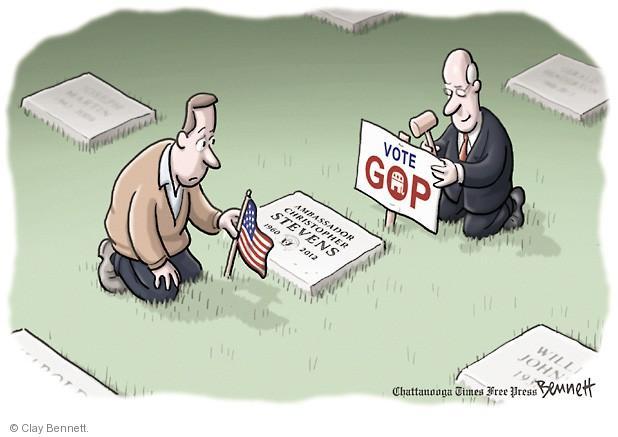 Clay Bennett  Clay Bennett's Editorial Cartoons 2014-05-16 ambassador