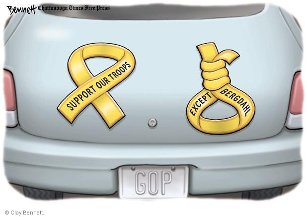 Clay Bennett  Clay Bennett's Editorial Cartoons 2014-06-06 noose