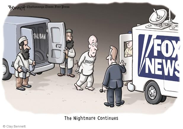 Clay Bennett  Clay Bennett's Editorial Cartoons 2014-06-10 media criticism