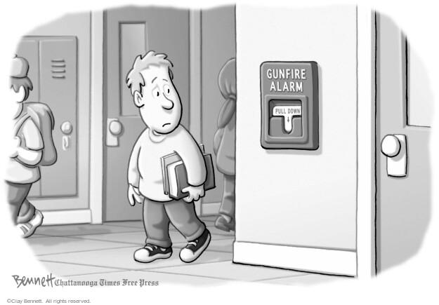 Cartoonist Clay Bennett  Clay Bennett's Editorial Cartoons 2014-06-11 school