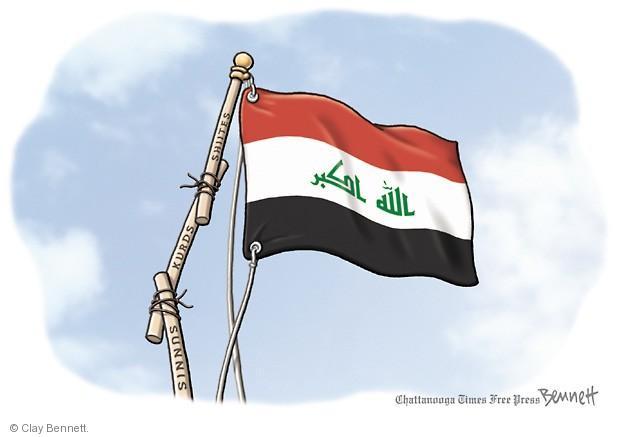 Clay Bennett  Clay Bennett's Editorial Cartoons 2014-06-13 Shiite