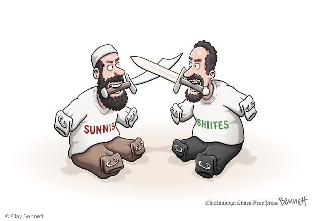 Clay Bennett  Clay Bennett's Editorial Cartoons 2014-06-17 Shiite