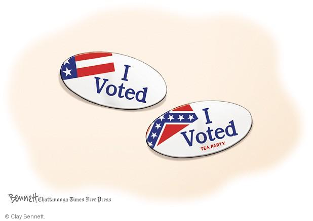 Cartoonist Clay Bennett  Clay Bennett's Editorial Cartoons 2014-06-25 button