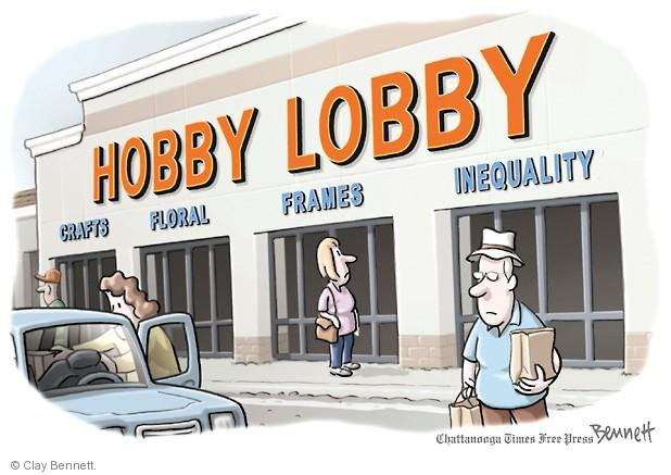 Clay Bennett  Clay Bennett's Editorial Cartoons 2014-07-01 Supreme Court