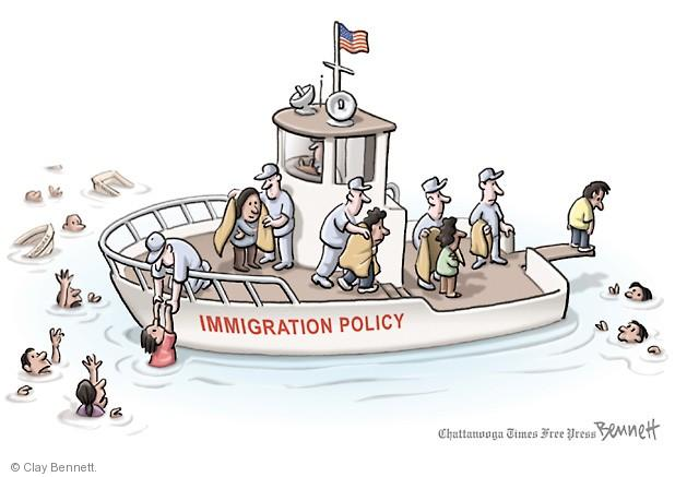 Clay Bennett  Clay Bennett's Editorial Cartoons 2014-07-16 Homeland Security