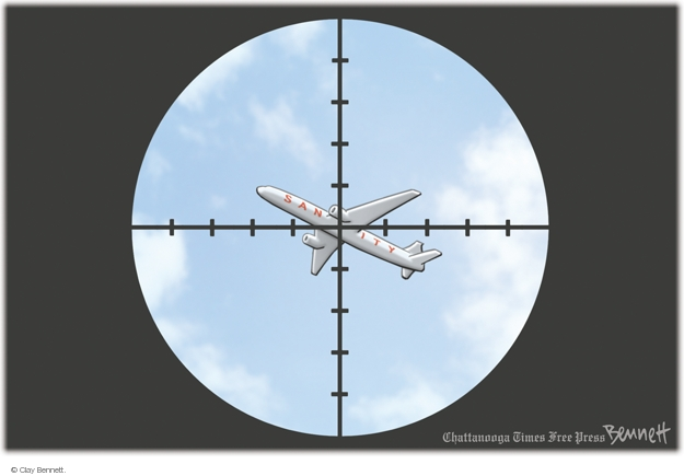 Clay Bennett  Clay Bennett's Editorial Cartoons 2014-07-18 aircraft
