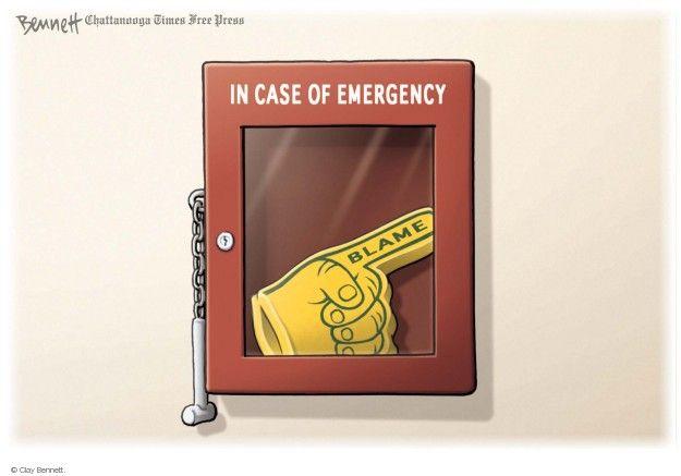 Cartoonist Clay Bennett  Clay Bennett's Editorial Cartoons 2014-07-24 response