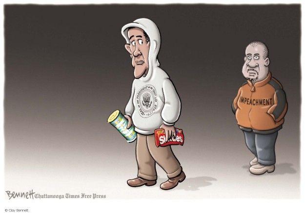 Cartoonist Clay Bennett  Clay Bennett's Editorial Cartoons 2014-07-31 impeach