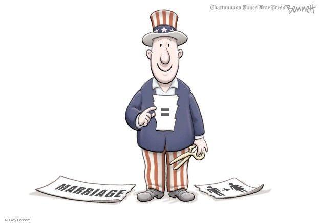 Clay Bennett  Clay Bennett's Editorial Cartoons 2014-08-08 equal rights