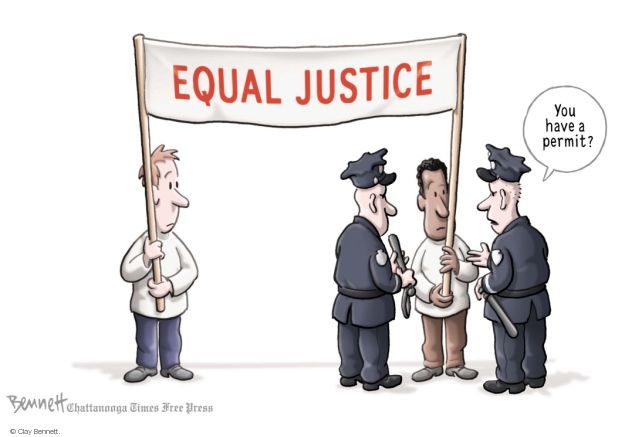 Clay Bennett  Clay Bennett's Editorial Cartoons 2014-08-18 freedom of expression