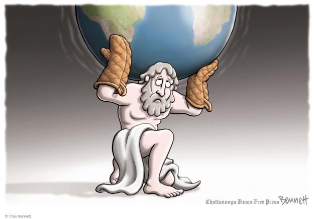 Clay Bennett  Clay Bennett's Editorial Cartoons 2014-08-27 atlas
