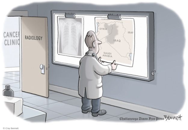 Cartoonist Clay Bennett  Clay Bennett's Editorial Cartoons 2014-09-03 Iran