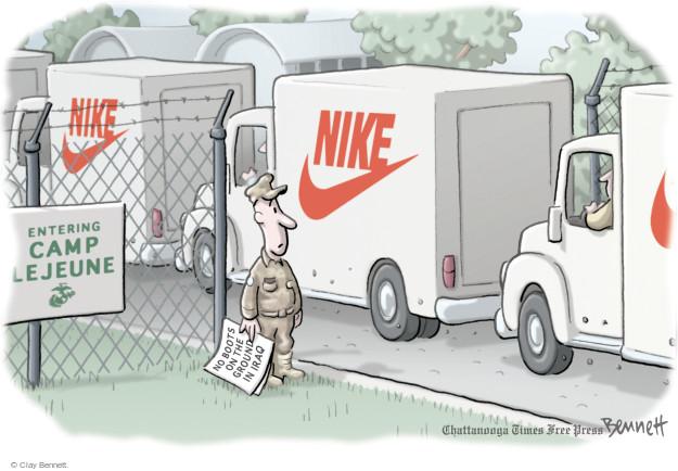 Cartoonist Clay Bennett  Clay Bennett's Editorial Cartoons 2014-09-11 Iraq