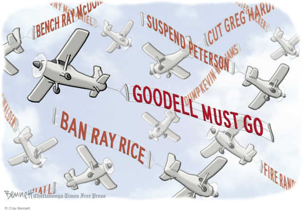 Cartoonist Clay Bennett  Clay Bennett's Editorial Cartoons 2014-09-18 charge