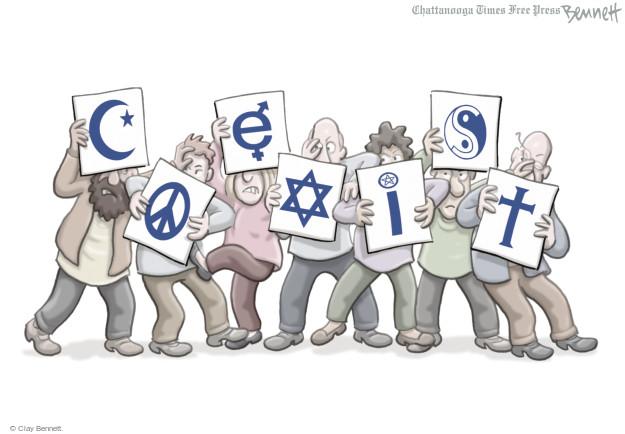 Clay Bennett  Clay Bennett's Editorial Cartoons 2014-09-24 Judaism