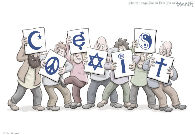 Cartoonist Clay Bennett  Clay Bennett's Editorial Cartoons 2014-09-24 political symbol