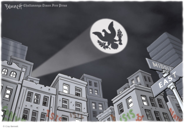 Clay Bennett  Clay Bennett's Editorial Cartoons 2014-09-29 east