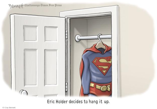 Clay Bennett  Clay Bennett's Editorial Cartoons 2014-09-30 Eric Holder