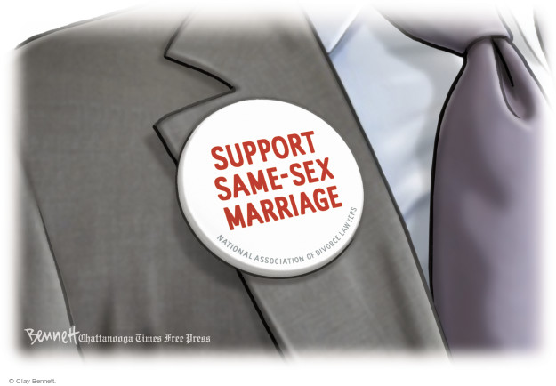 Cartoonist Clay Bennett  Clay Bennett's Editorial Cartoons 2014-10-06 lawyer