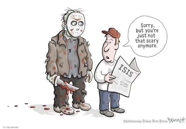 Clay Bennett  Clay Bennett's Editorial Cartoons 2014-10-23 but