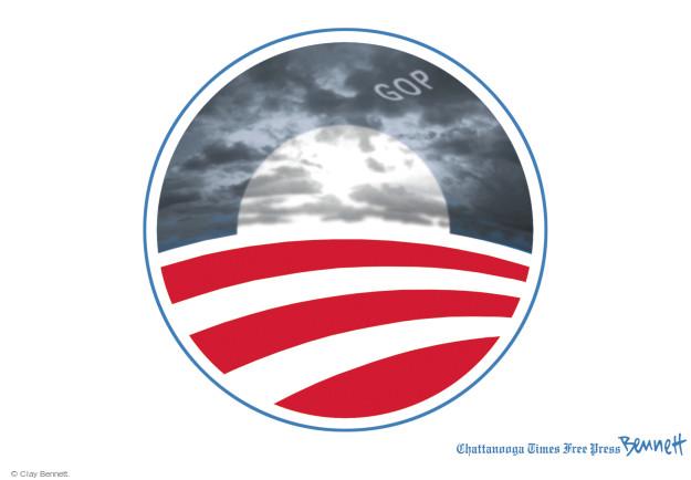 Cartoonist Clay Bennett  Clay Bennett's Editorial Cartoons 2014-11-13 2012 election