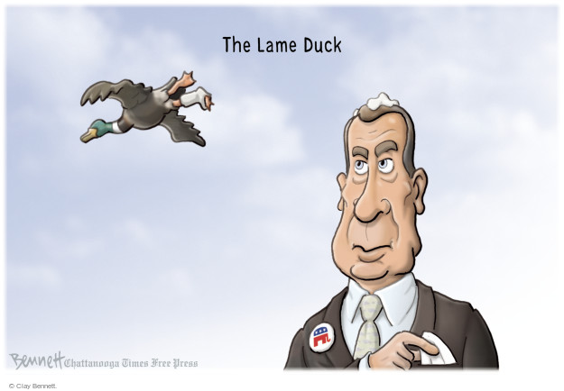 The Lame Duck.