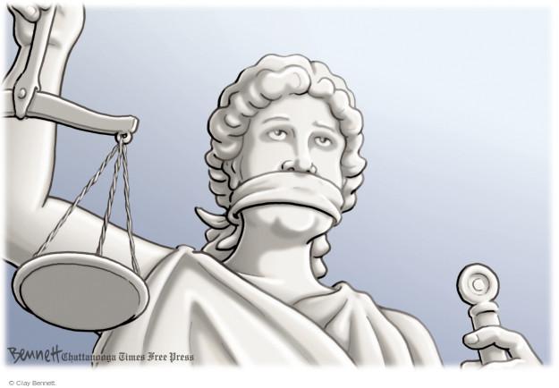 Clay Bennett  Clay Bennett's Editorial Cartoons 2014-11-25 indictment