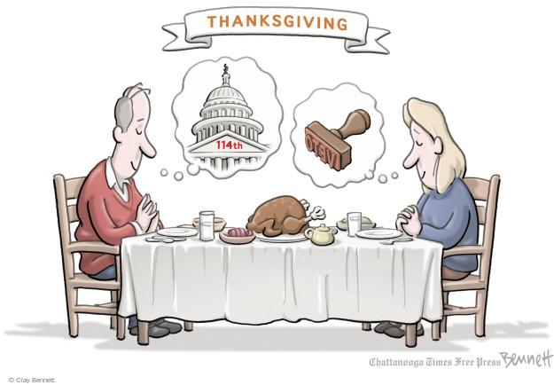 Clay Bennett  Clay Bennett's Editorial Cartoons 2014-11-28 2014 election