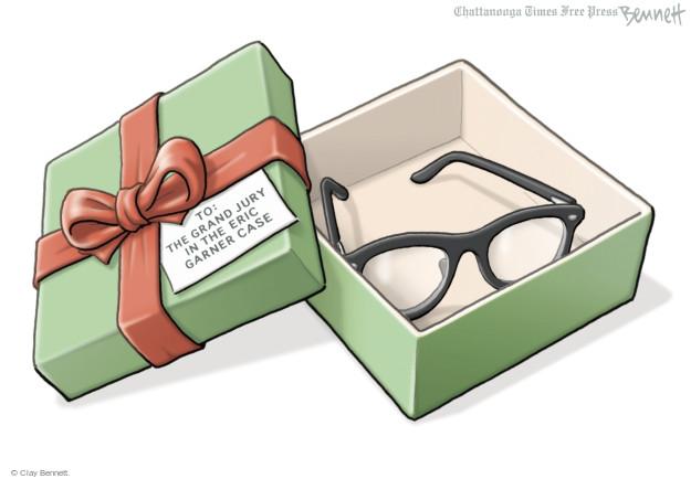 Clay Bennett  Clay Bennett's Editorial Cartoons 2014-12-05 indictment