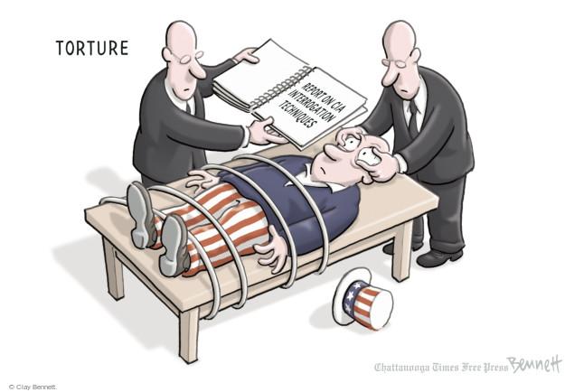 Cartoonist Clay Bennett  Clay Bennett's Editorial Cartoons 2014-12-09 committee
