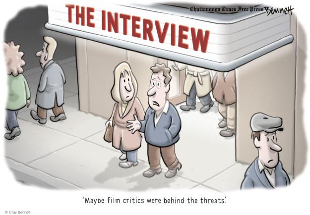 Cartoonist Clay Bennett  Clay Bennett's Editorial Cartoons 2014-12-29 cyber