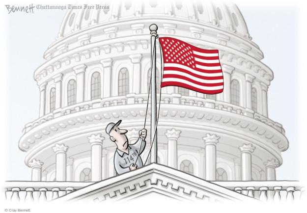 Cartoonist Clay Bennett  Clay Bennett's Editorial Cartoons 2015-01-06 building