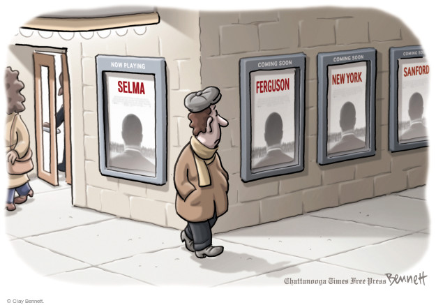 Clay Bennett  Clay Bennett's Editorial Cartoons 2015-01-07 voting rights