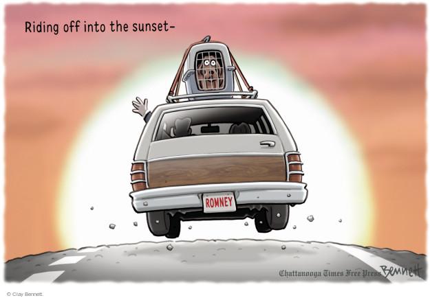 Clay Bennett  Clay Bennett's Editorial Cartoons 2015-02-02 2016 election Mitt Romney