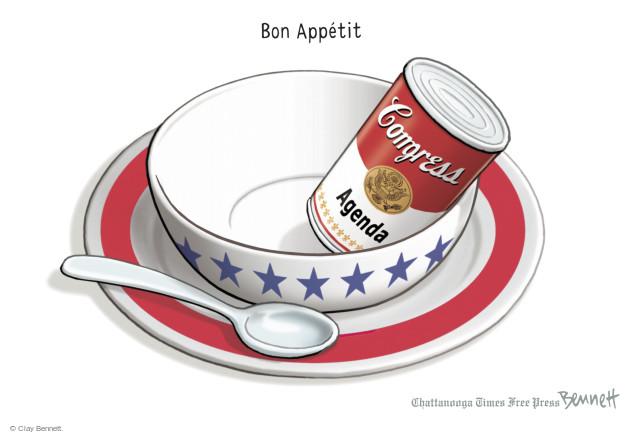 Bon Appétit. Congress. Agenda.