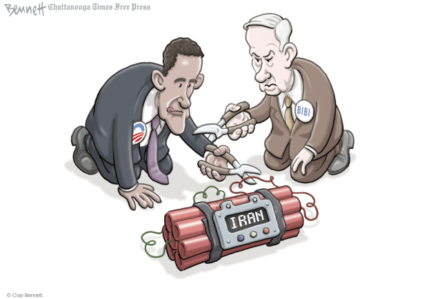 Cartoonist Clay Bennett  Clay Bennett's Editorial Cartoons 2015-03-04 Iran